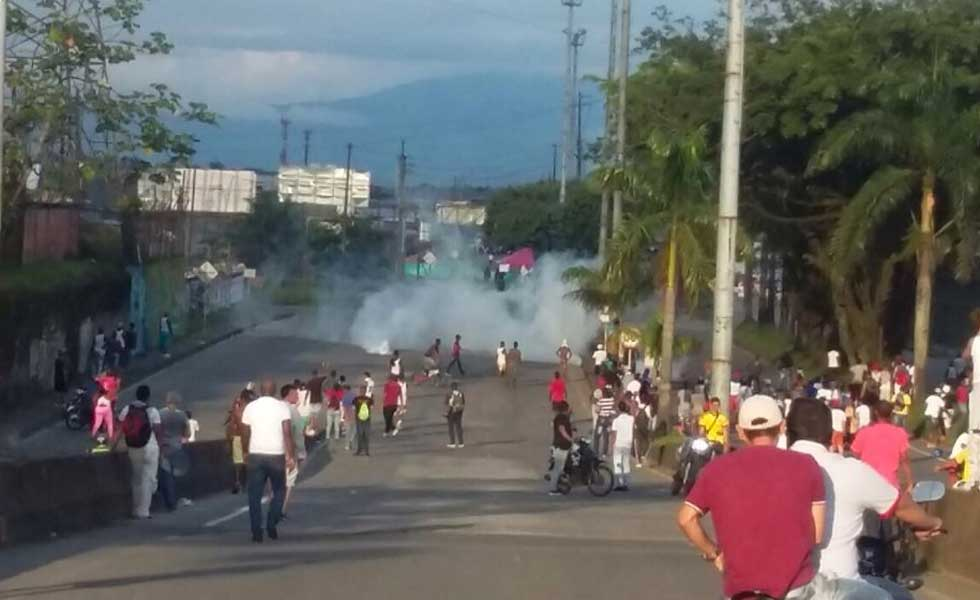 Cali prepara los protocolos para llegada de desplazados por la violencia en Buenaventura