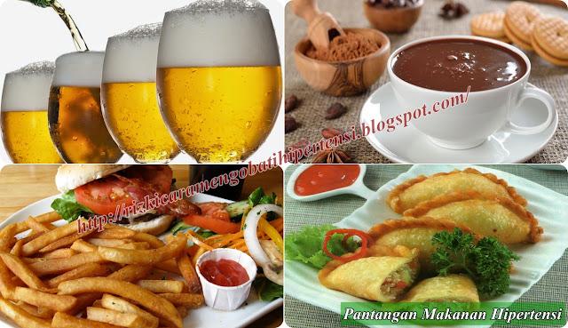 Pantangan Makanan Bagi Penderita Hipertensi Terlengkap
