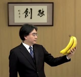 Satoru Iwata banana meme