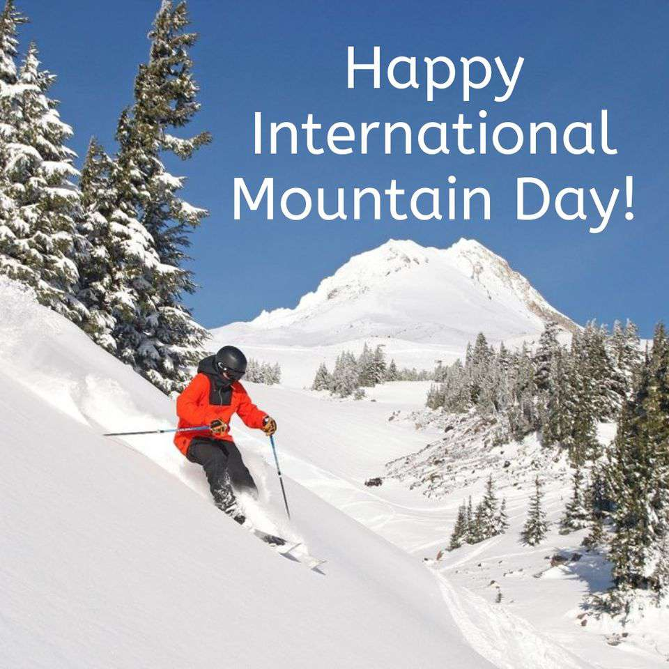 International Mountain Day Wishes Lovely Pics
