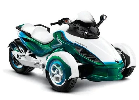 Can Am Spyder Hybrid Wheel 3 This Armed