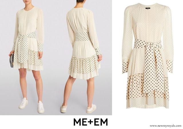 Zara Tindall wore ME+EM Polka Dot Mini Dress