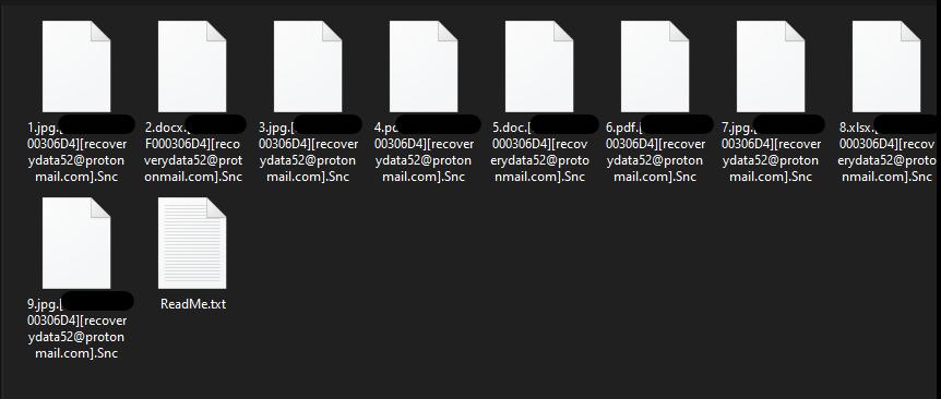 .[recoverydata52@protonmail.com].Snc Virus
