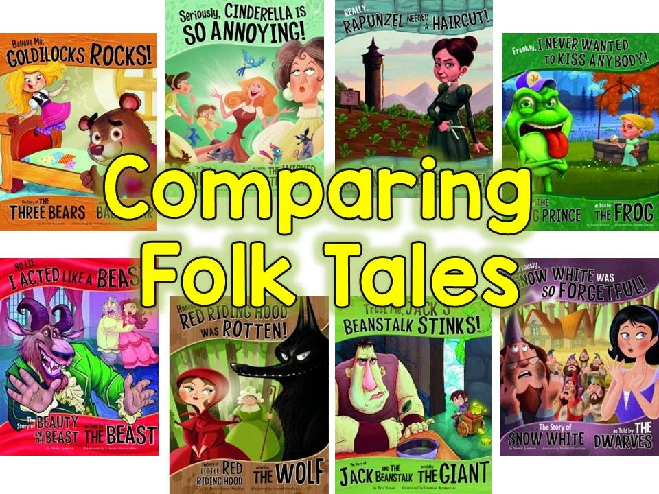 second grade nest comparing fairy and folk tales. Black Bedroom Furniture Sets. Home Design Ideas