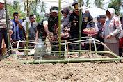 Kapolres Wajo Pimpin Upacara Pemakaman Almarhum Brigpol Asfaruddin