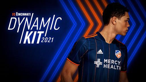 FC Cincinnati 2021 Home Kit