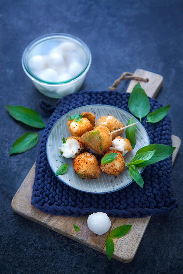 Recette croquettes de formage basilic vegan