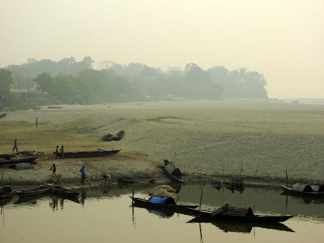 Assam, Tezpur, river, Brahmaputra