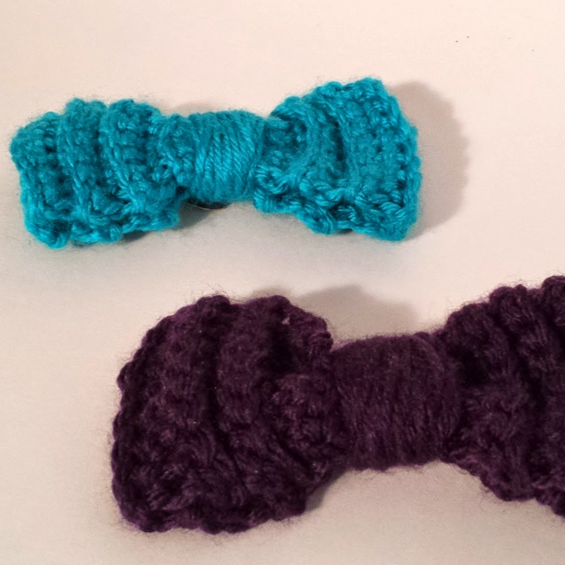 Indecisively Chic Crochet Bow Hair Clips