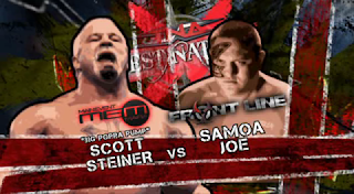 TNA Destination X 2009: Samoa Joe faced Scott Steiner