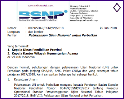 Jadwal Pendaftaran UNP dan Jadwal Pelaksanaan UNP Tahun 2018