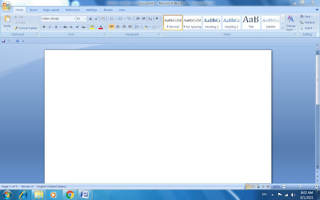 Introduction of MS Word