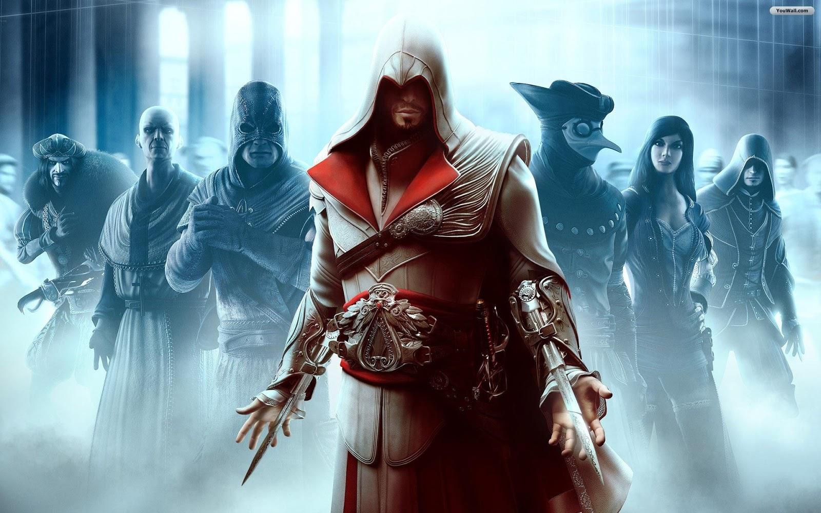 Wallpapers Hd Assassins Creed Brotherhood Wallpaper 4