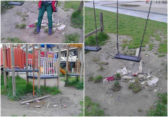 Ηγουμενίτσα: Μέσα στα σκουπίδια και τη βρωμιά και χωρίς άδεια η κεντρική παιδική χαρά