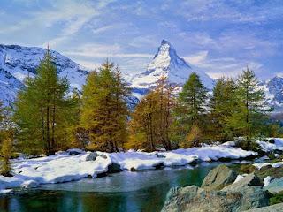 سويسرا..الطبيعة الخلابة