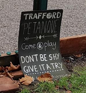 Trafford Pétanque in Victoria Park, Manchester
