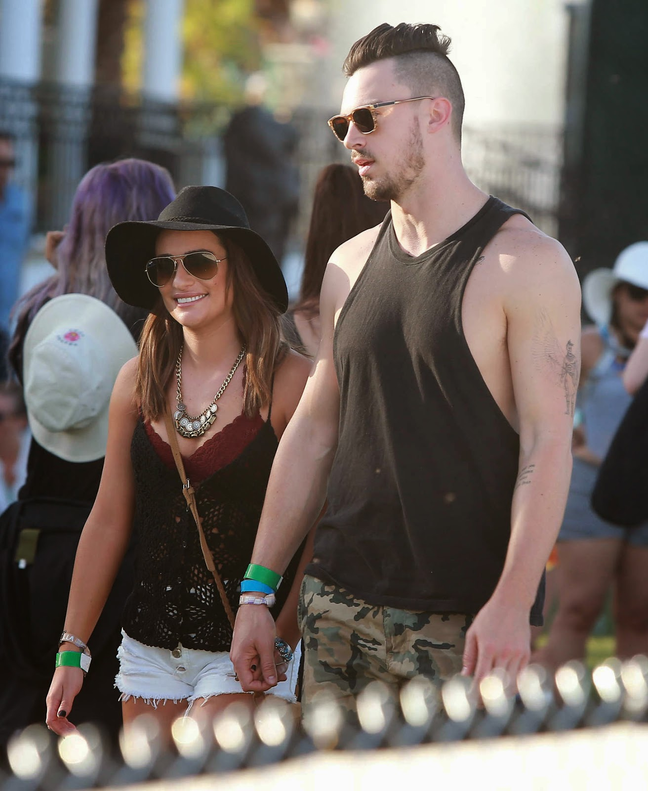 Lea Michele – Coachella Music Festival Day 2 in Indio