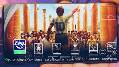 تحميل لعبة PES 2021 باتش جديد للاعب Maradona الأسطورة الحية