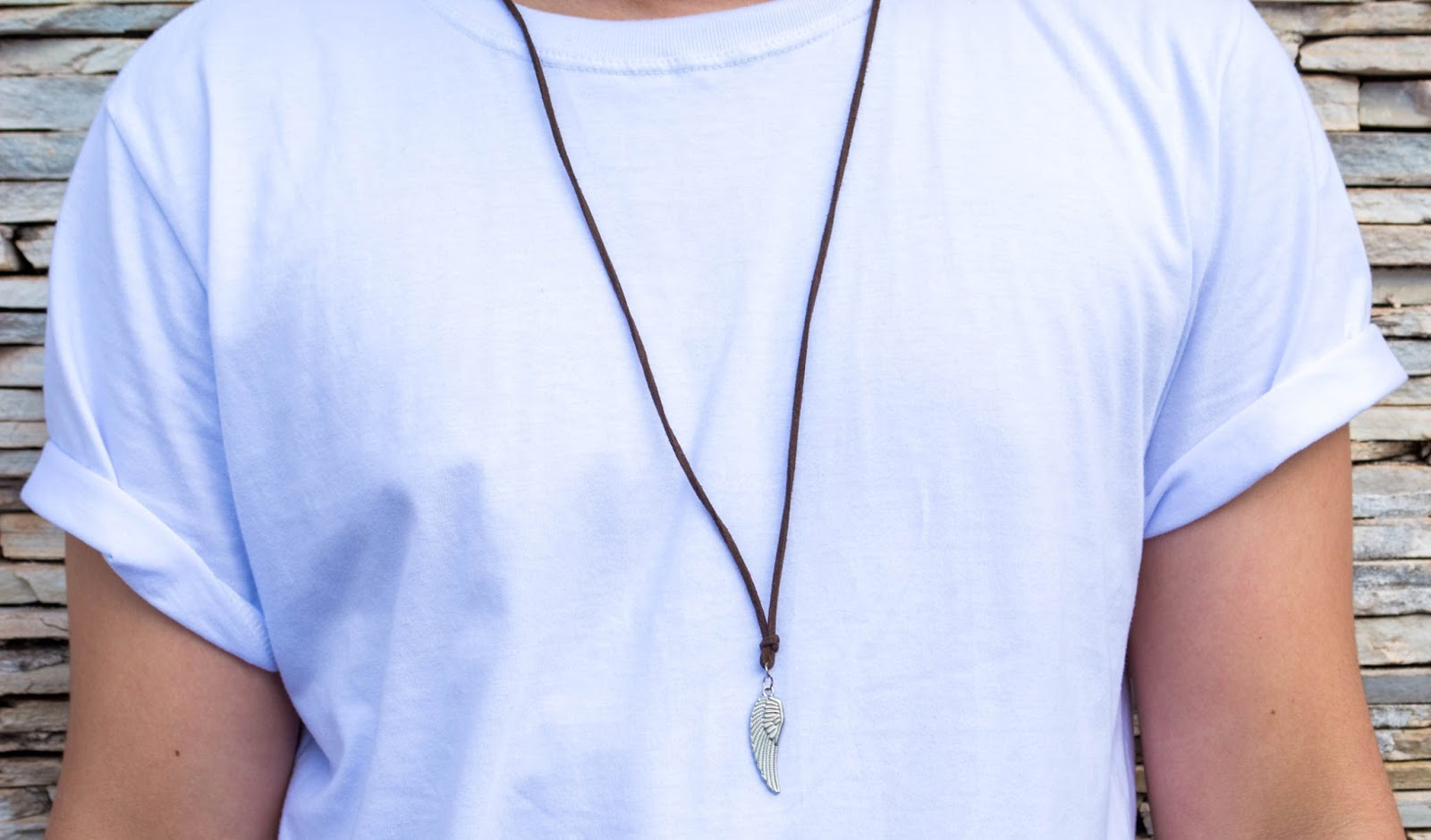 colar masculino look