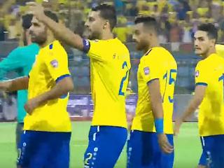 فريق الإسماعيلى قبل مباراة أهلى بنغازى