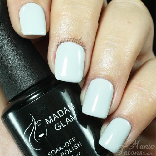Madam Glam Gel Polish 106 Cashmere Grey Swatch
