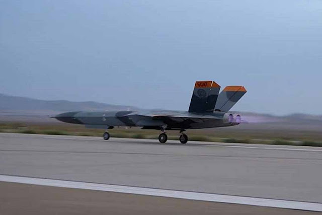 Fifth Generation Aerial Target first flight