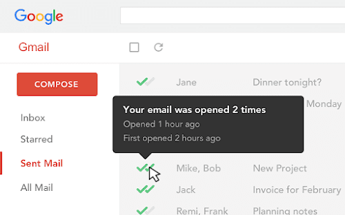 MailTrack Chrome Extension