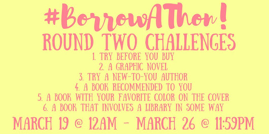 Borrow-A-Thon Round two Challenges!