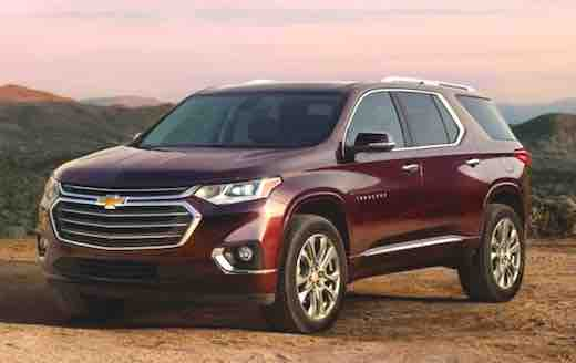 2018 Chevrolet Traverse Horsepower