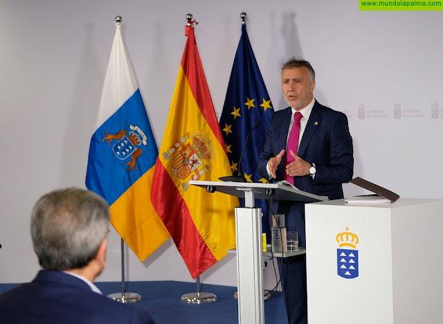 """El presidente de Canarias propone un """"gran pacto de reconstrucción, sin que nadie se quede atrás, para salir de la crisis social y económica generada por la COVID-19"""""""