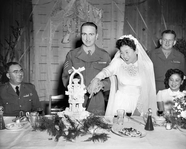 At War Bride Tea With 93