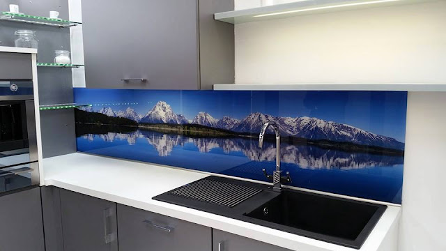 PRINTED KITCHEN BACKSPLASH