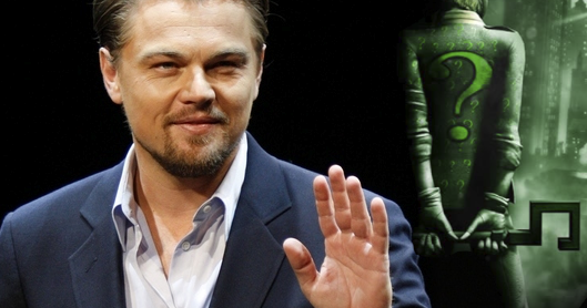 CELLULOID AND CIGARETTE BURNS: David Goyer Confirms The ...  Leonardo Dicaprio Riddler