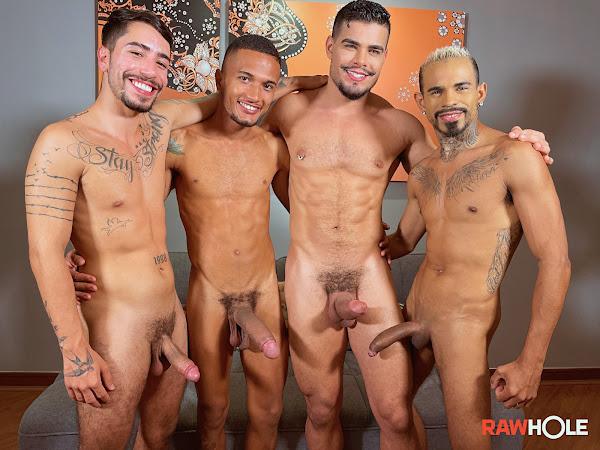 #RawHole - Horsehung Bareback Orgy
