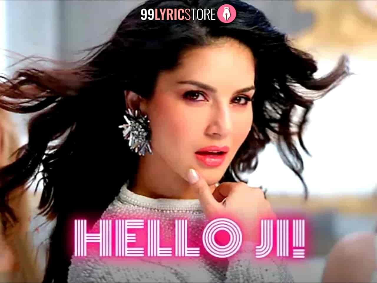 Hello Ji Sunny Leone Images