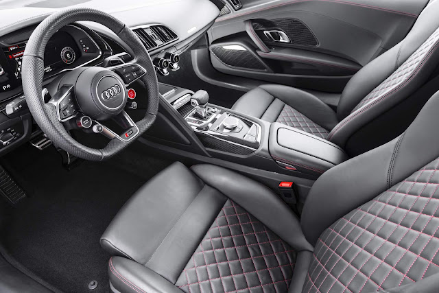 Novo Audi R8 Plus 2018 - Interior