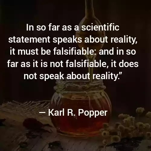 Karl R. Popper Famous Quotes