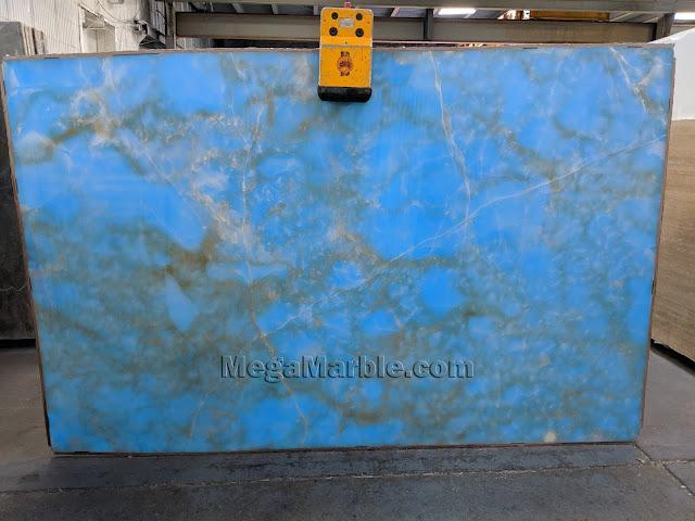 Blue Onyx Marble Slabs NJ