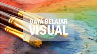 gaya belajar visual