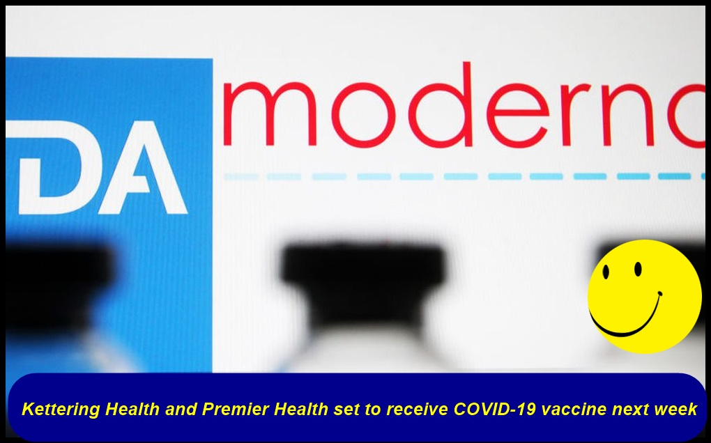 Kettering Health and Premier Health set to receive COVID-19 vaccine next week