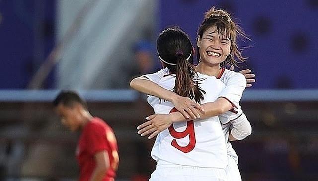 Xác định đối thủ của nữ Việt Nam ở vòng bán kết