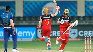 RCB vs MI 10th Match IPL 2020 Highlights