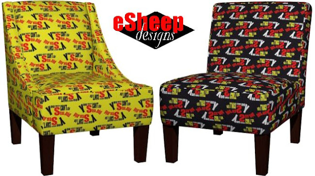 roostery chairs from eSheep Designs