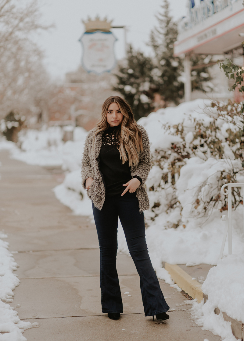 winter style, winter fashion, fuzzy jacket