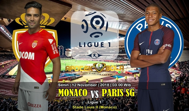 Prediksi Monaco Vs Paris SG 12 November 2018