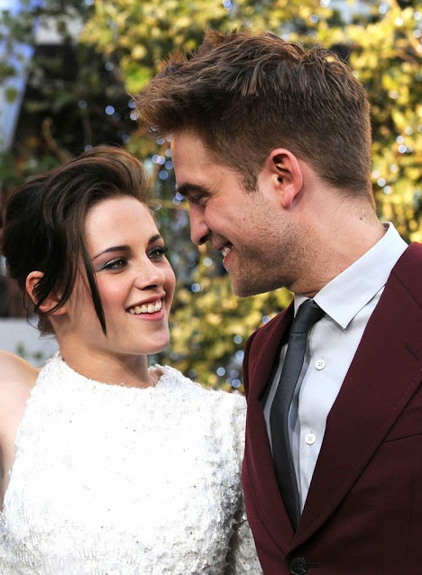 Kristen Stewart and Robert Pattinson madly in love