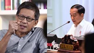 Rocky Gerung Ungkap Nama Menteri Berakal Sehat yang Mulai Gerah dengan Jokowi