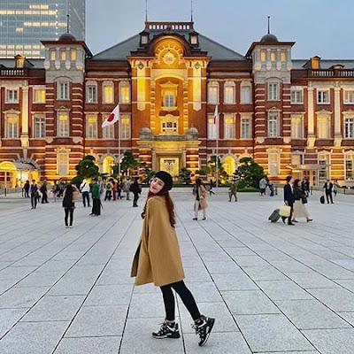 Valendza Wijaya di Jepang