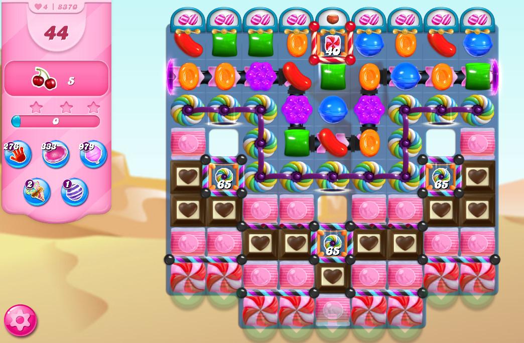 Candy Crush Saga level 8370