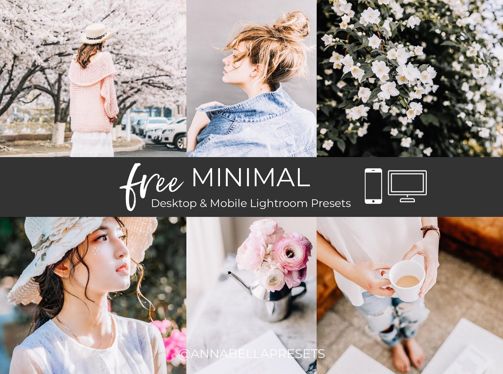 Free Minimal LR Mobile & Desktop Preset for Bloggers and Photographers